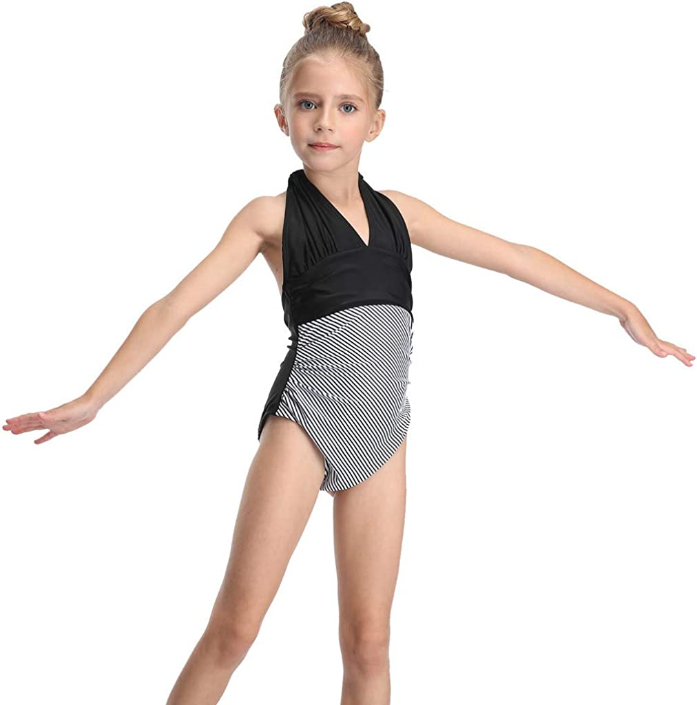 Giulot Toddler Kids Girls One Piece Swimsuit Beach Sport Swimwear Bathing Suit Summer Clothes Bikini Tankini