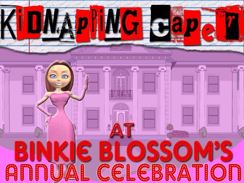 Mystery Party Game Instant Download: Kidnapping Caper at Binkie Blossom's Annual Celebration ()