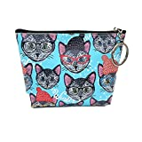 Lovely Women Bags,Girls Printing Dog PU Leather Small Wallet Coin Purse Clutch Bag Tote Bags Card Holder Handbags