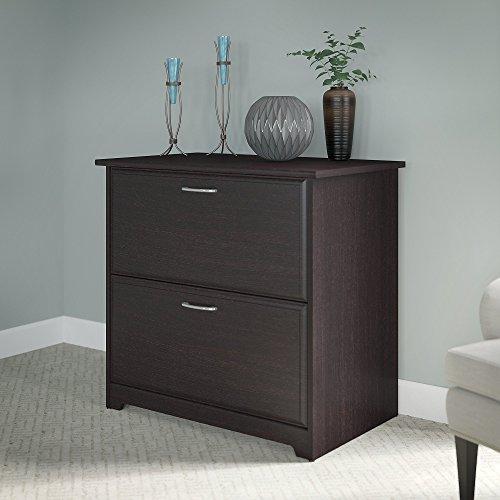 Bush Furniture Cabot 2 Drawer Lateral File Cabinet, Espresso Oak