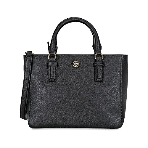 Burch Tory Mini One Robinson Square Black Women's Size Tote 1OadvrgOq