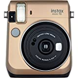 By-Fujifilm Camera Small, Lcd Instant Film Portable Photo Small Camera For Travel, Gold