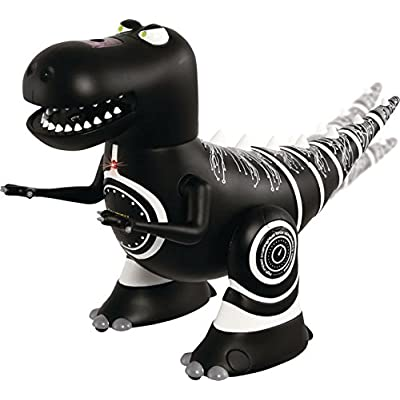 Merchsource Robotosaurus - Infrared Control Dinosaur - Black: Toys & Games