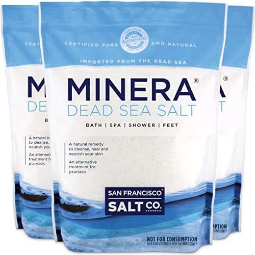 Minera Dead Sea Salt - 57 lbs. Fine Grain (Qty. 3 x 19 lb. Bags)