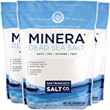 #4: Minera Natural Dead Sea Salt, 60 lbs. - Fine Grain (Qty 3, 20 lb. Bags)