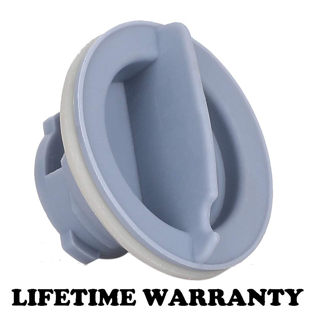KONDUONE 8558307 WP8558307 Dispenser Cap Rinse Aid Caps for Whirlpool Dishwasher (1PCS)