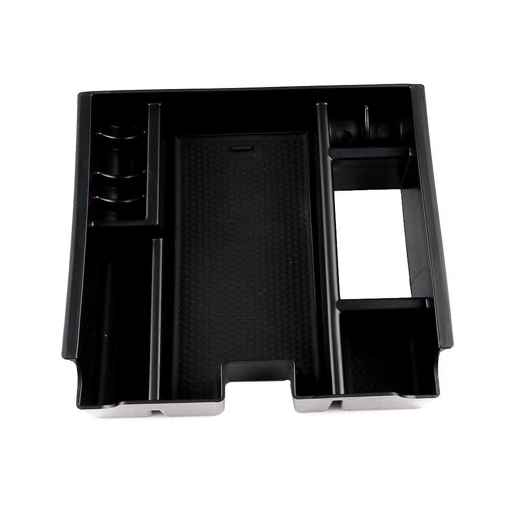 SXYSNX Armrest Pallet Box Storage Center Console Container Fit for Jaguar XF 2009-2015