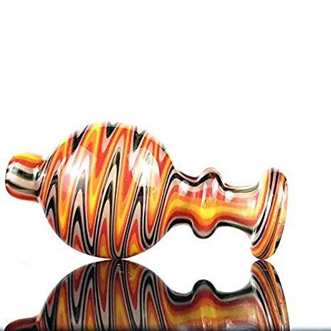 Aduben 1PCS Colorful Twist Flower Glass Cover Color Random OD27mm