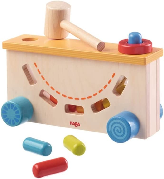 HABA 302577 Play Workbench Rap Tap Toy