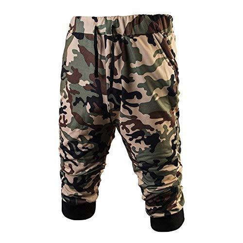 Pantaloni Cotone Comode Grün Corte Fashion A Abiti Uomo Hx Da Taglie Maniche Lavoro Di L53A4Rj