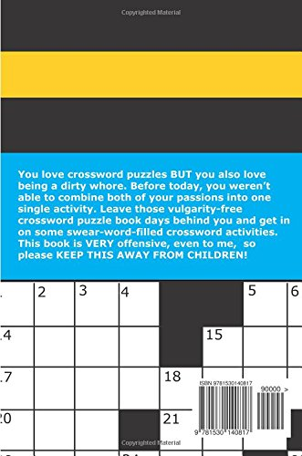 Naughty Swear Words Crossword Puzzles Book for Adults Only ...