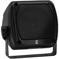 PolyPlanar Subcompact Box Speaker - (Pair) Black by Poly-Planar