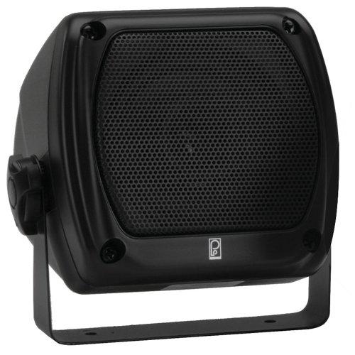 PolyPlanar Subcompact Box Speaker - (Pair) Black by Poly-Planar (Poly Planar Dual Speaker)