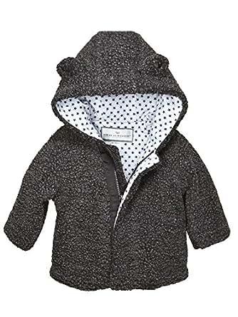 Widgeon Baby-Girls 3745-CBP Snuggle Bear Berber Jacket 3745 Long Sleeve Transitional Jacket - Pink - 18 Mnths