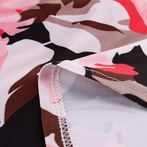 Women Long Gown Summer Beach Sleeveless Sundress Boho Floral Print Dress Maxi Dress by Lowprofile by Lowprofile Dress (Image #5)