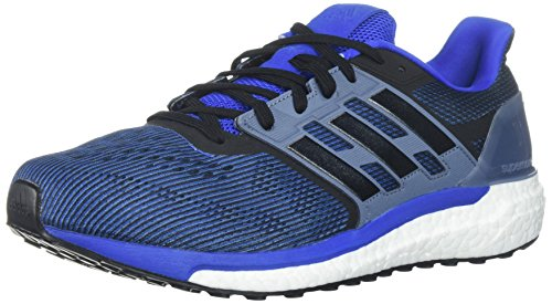 adidas Performance Men's Supernova M Running Shoe, Hi-Res Red/Core Black/Raw Steel, 10.5 M US (Adidas Mens Steel Watch)