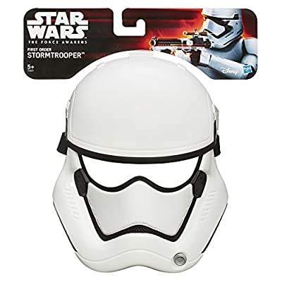 Star Wars The Force Awakens First Order Stormtrooper Mask: Toys & Games