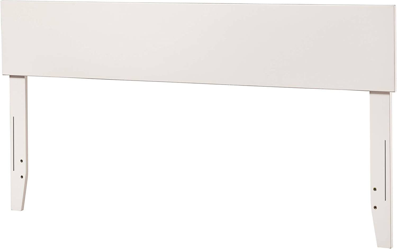 Atlantic Furniture Orlando Headboard, Queen, White