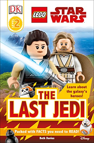 DK Readers L2: LEGO Star Wars: The Last Jedi (DK Readers Level - Wars 2 Book Star Lego Level