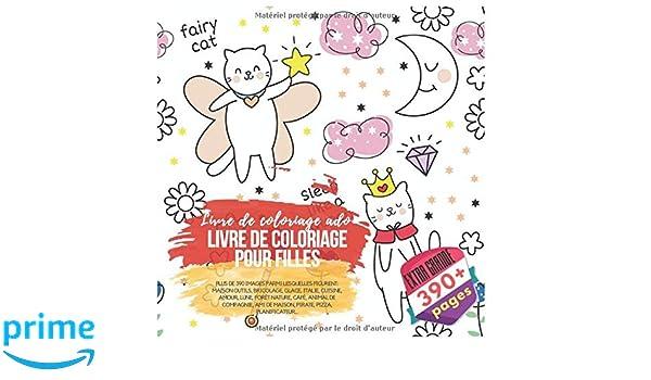 Livre De Coloriage Pour Filles Livre De Coloriage Ado Plus
