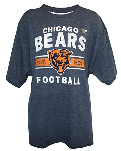 NFL Men's Established T-Shirt by G-III, Chicago Bears, X-Large