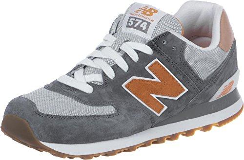 Herren Sneakers Lauflernschuhe New Marrón Balance Ml574 Gris 5OxwqPzfw