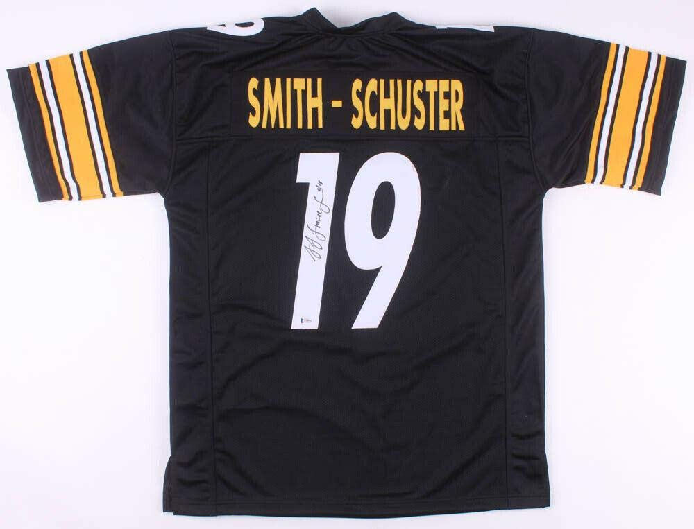 new style 1b2dc 341a9 Signed JuJu Smith-Schuster Jersey - PRO STYLE w BECKETT COA ...