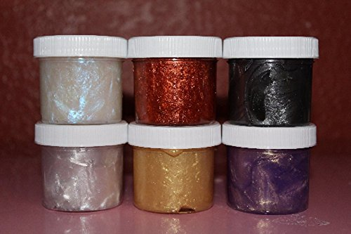 Heavy Metal - 2 oz (Set of 6) from Samantha's Slime Shop