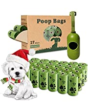 Yingdelai Dog Poop Bags, 540 Counts Poop Bags Biodegradable Eco-Friendly Leak-Proof Dog Waste Bags with 1 Dispenser Poop Bags for Dogs|Doggy (Scented)