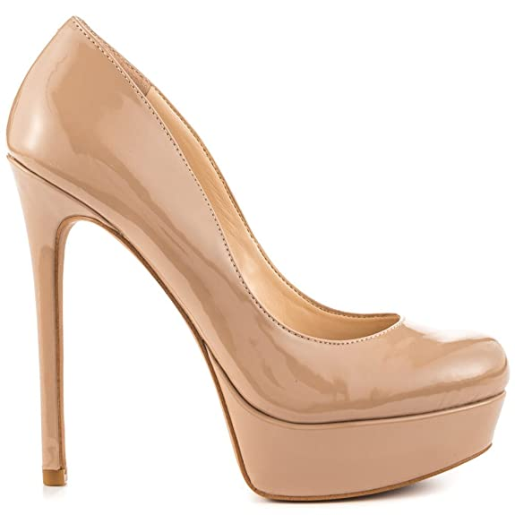 4df3a6392e Amazon.com | Jessica Simpson Women's 'Sandrah' Pump (9.5M, Nude Patent) |  Pumps