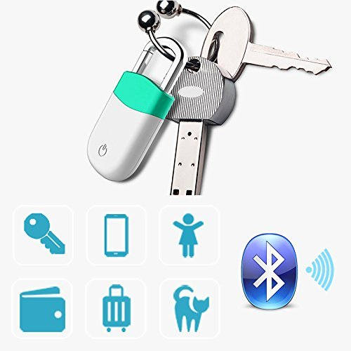 ECHEERS Intelligent Bluetooth Tracker Anti-lost Alarm to Find Locate Key Phone Luggage Echo App IOS Android Lock Design