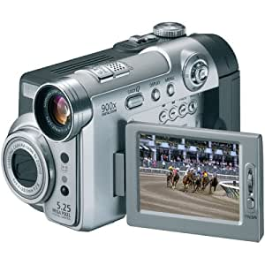 Samsung SCD6550 DuoCam MiniDV Camcorder w/10x Optical Zoom & 5MP Digital Camera (Discontinued by Manufacturer)