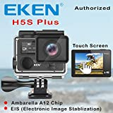 Best Go Pro Eken H5s Plus Ultra Hd Action Camera Touch Screen Ambarella A12 EIS 4k/30fps 720p/200fps 30m Waterproof Go Helmet Pro Sport Cam