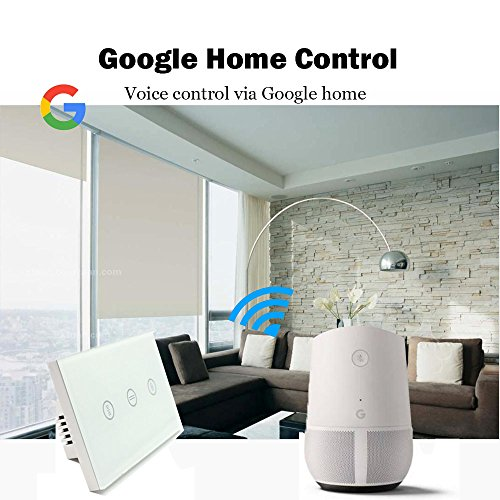 US Type Wifi Smart Curtain Motor Switch APP or Voice Control by Alexa Echo AC110 to 240V Work with Electric Roller Blinds Curtains Motor with Control Wires Home Automation IFTTT by zemismart (Image #3)