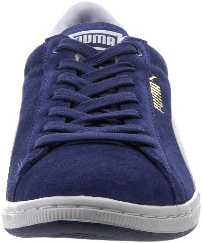 Puma White Blue Blue Supersuede Clematis in White Clematis Womens Shoes pBpw8qZr