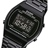 CASIO(カシオ) B-640WB-1B/B640WB-1B ベーシック デジタル メタルベルト オールブラック ユニセックスウォッチ 腕時計 [並行輸入品]