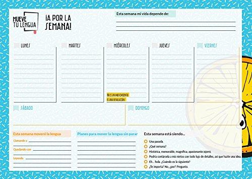 Planificador Semanal MueveTuLengua: Amazon.es: MueveTuLengua ...