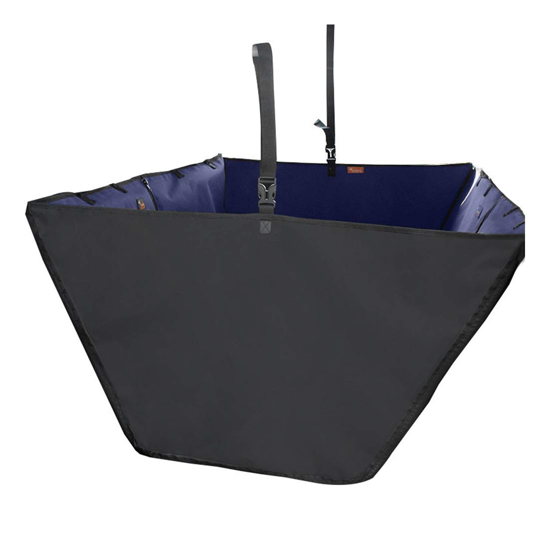 Navy bluee Thick 145X130X50cm Navy bluee Thick 145X130X50cm FELICIPP Dog Car Mat Waterproof And Dirty Car Dog Pad Pet Travel Supplies (color   Navy bluee thick, Size   145X130X50cm)