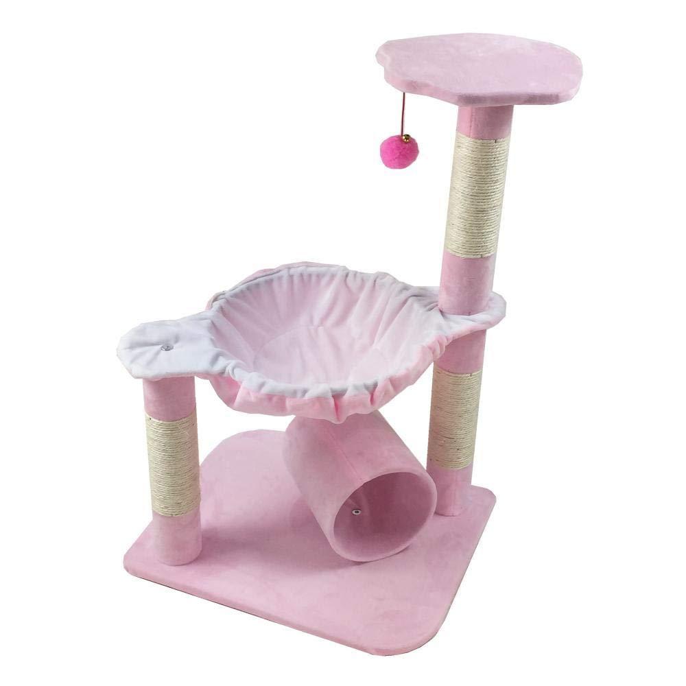 C Aoligi Cat Play Towers -* Trees Station Pet toy Platform di afferrare colonne mobili di presa 45 * 37 * 71cm foglio /corda /Flannel