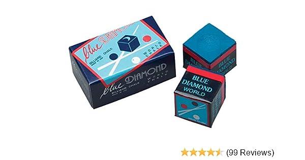 Case Blue Diamond Pool Chalk one 50 Pieces = 1 Longoni Premium Quality Chalk