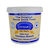 Gimborn Stewart Freeze Dried Treat – Chicken Breast 11.5 oz. Tub, 1 Pack For Sale