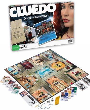 Hasbro Juegos en Familia Cluedo 40613105: Amazon.es: Juguetes y juegos