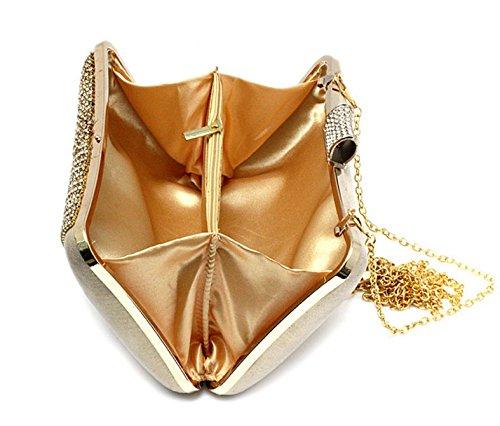 bolso de diamante en forma de corazón/bolsos de tarde/paquete de banquete/La novia del embrague/paquete cheongsam Sra.-C C