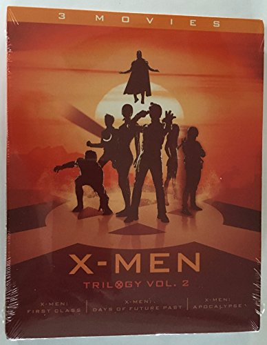 X-Men Trilogy Vol. 2 (X-Men: First Class / X-Men: Days of Future Past / X-Men: Apocalypse) [Blu-ray]