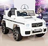 BIG TOYS DIRECT Mercedes Benz G63 12V Battery Powered Kids Ride On Car/Truck with Remote