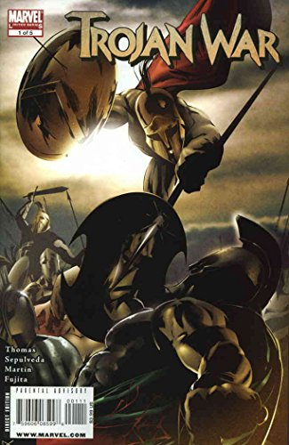 Trojan War #1 VF/NM ; Marvel comic book