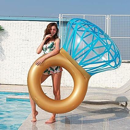 Amazon.com: Zoostliss Flotador de piscina inflable con ...