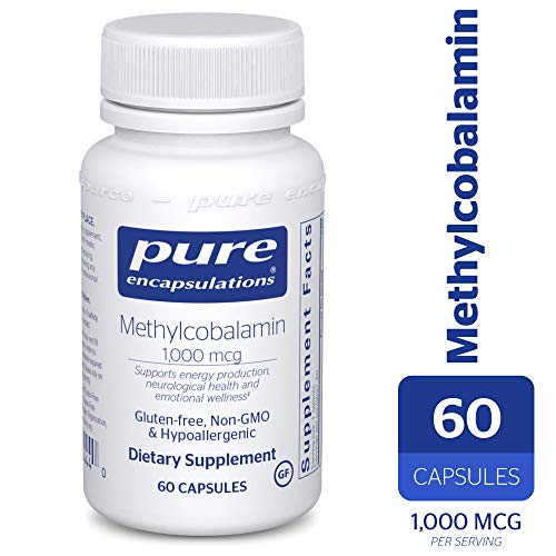 - Pure Encapsulations - Methylcobalamin - Advanced Vitamin B12 for a Healthy Nervous System* - 60 Capsules