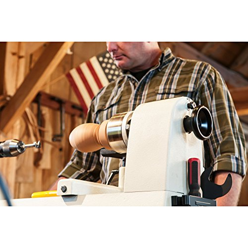 JET JWL-1221VS 12-Inch by 21-Inch Variable Speed Wood Lathe