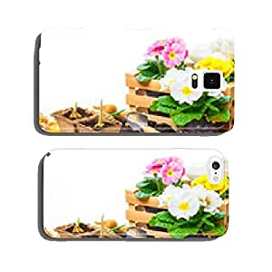 Primroses, gardening, spring flowers cell phone cover case iPhone6